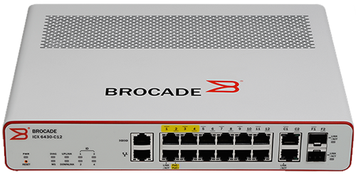 Brocade ICX 6450 C12 PD Switch
